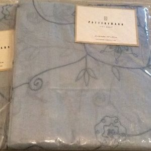 Pottery Barn Accents - 2 panels pottery barn Remy curtains  42x84 inches